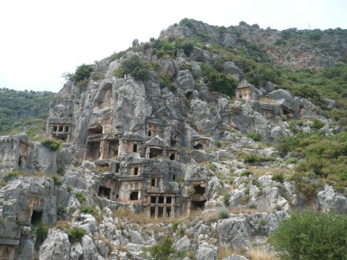 mountain graves turkey