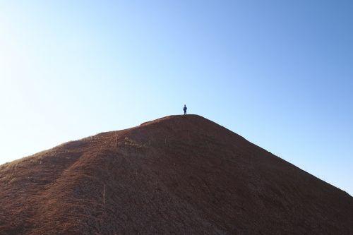 mountain sky slopes