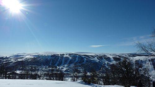 mountain ski slope ski slopes
