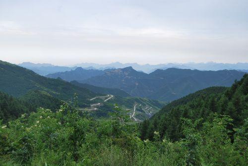 mountain sky mountain road