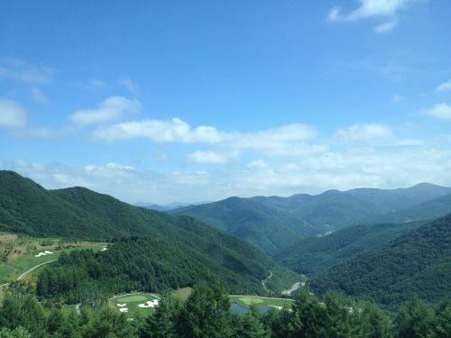 mountain gangwon do choice