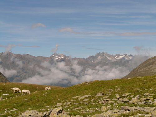 mountain mountains timmelsjoch