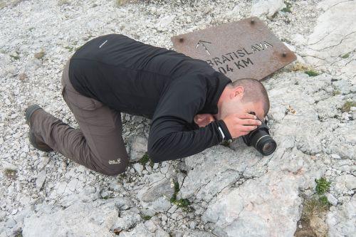 mountain photographer summit