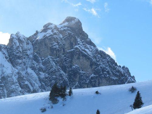 mountain snow aggenstein
