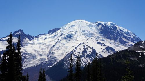 mountain mount rainier washington