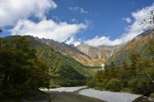 mountain japan kamikochi