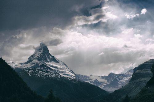 matterhorn mountain sky