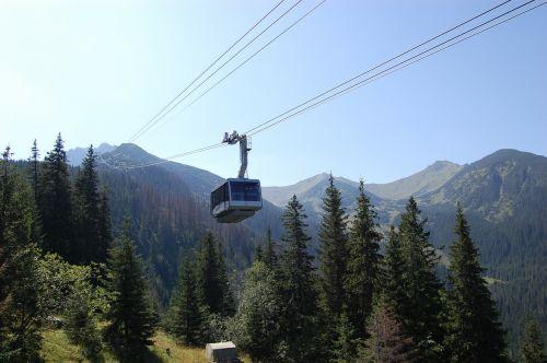 mountain mountains cart