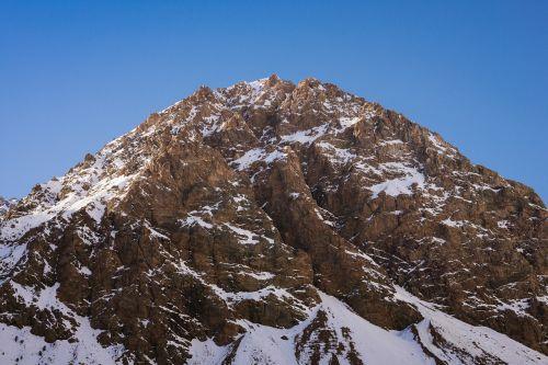 mountain summit peak
