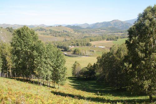 mountain altai mountains landscape