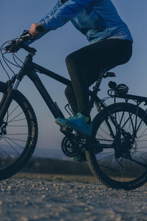 mountain bike sport mountains