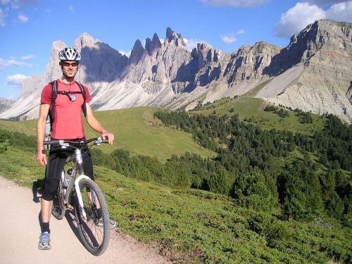 mountain bikers mountain bike bike