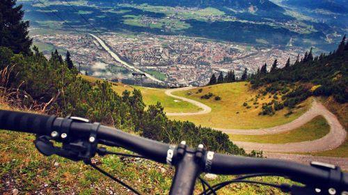 mountain biking alps austria