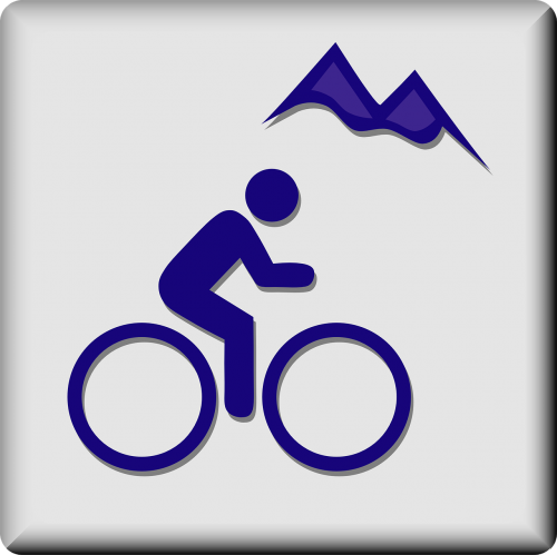 mountain biking bike trail biking
