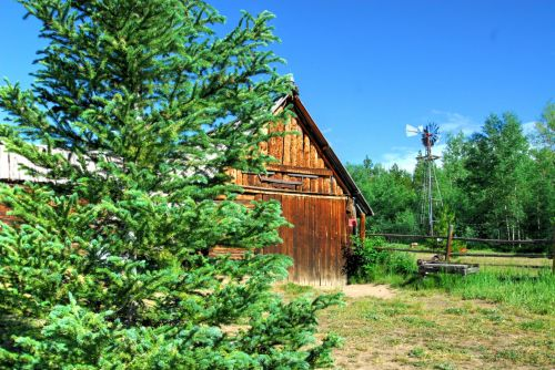 Mountain Farmstead