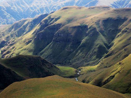 Mountain Folds, Drakensberg