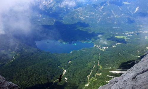 mountain hiking holiday lake