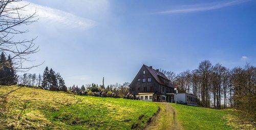 mountain hut  house  hut