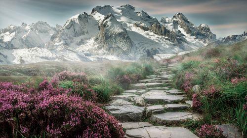 mountain landscape mountains landscape