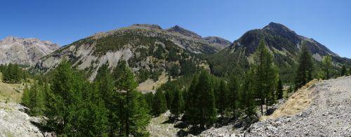 mountain panorama alps france
