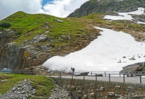 mountain pass  summer  pass driving