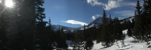 mountain pass vista scenery