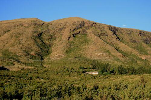 Mountain Range In Free State
