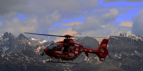 mountain rescue rescue helicopter mountain rescue service