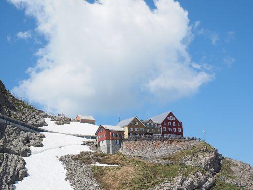 mountain restaurant mountain inn restaurant alter säntis