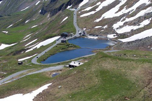 mountain road großglockner high alpine road