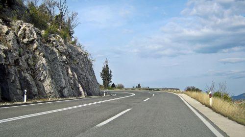 mountain road mountains mountain