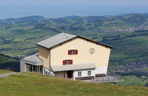 mountain station panorama ebenalp
