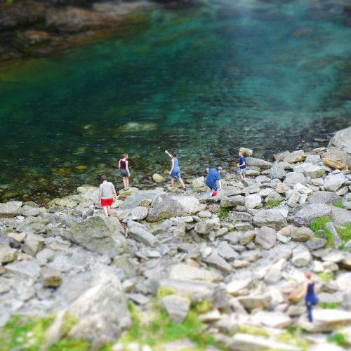 mountain stream river ticino