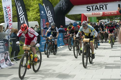 mountain terrain bike  mtb  start