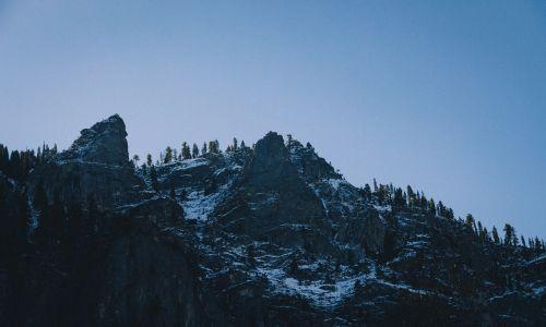 mountain top top landscape