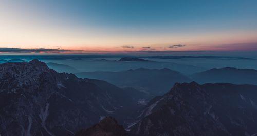 mountain top summit peak
