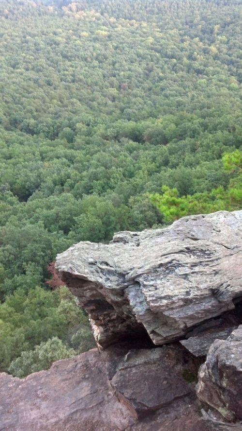 kalnas, slėnis, kraštovaizdis, Rokas, uolos, medžiai, kalnų slėnio kraštovaizdis