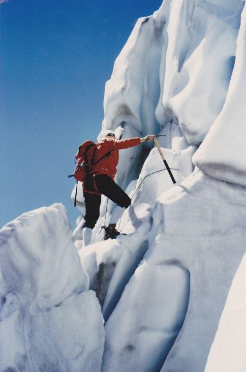 mountaineer glacier mountains