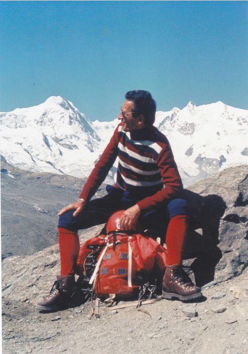 mountaineer valais mountaineering