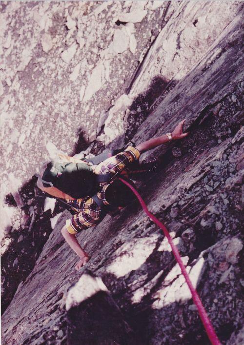 mountaineer rock wall mountaineering