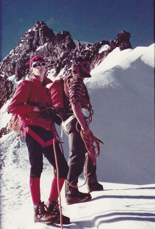 mountaineer switzerland mountaineering