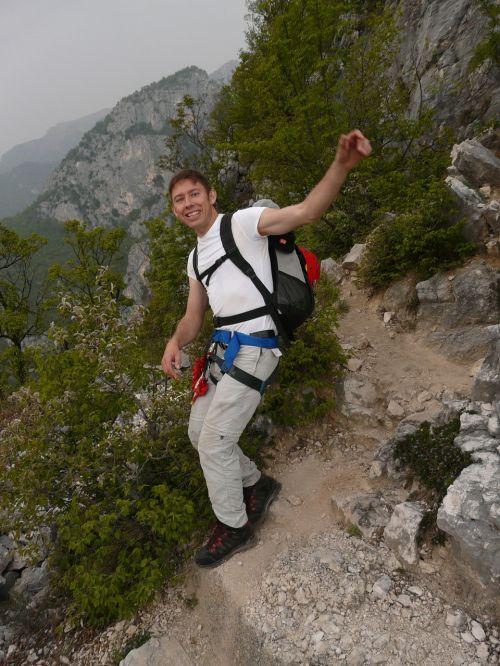 mountaineer hiking fun