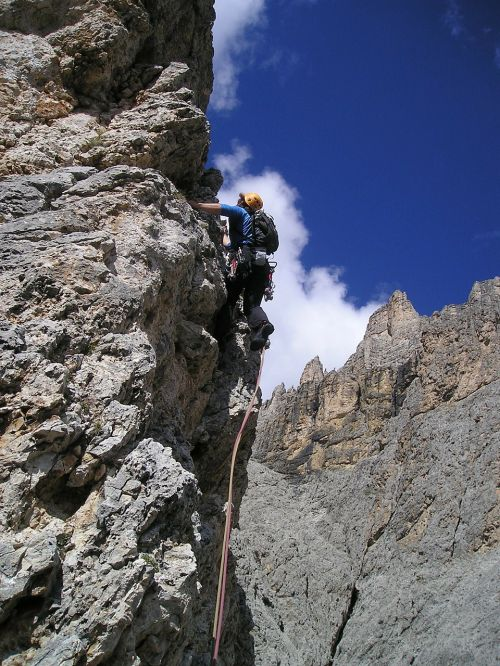 mountaineer alpine climbing bergsport