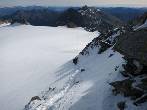 mountaineering tour bergtour