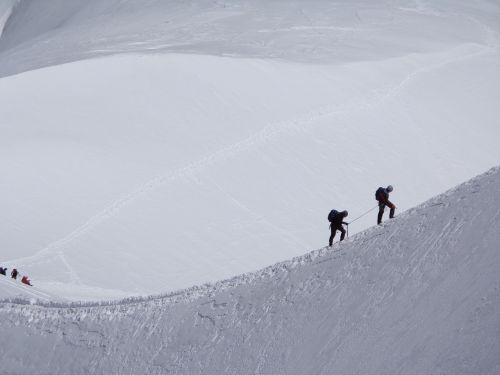 mountaineering switzerland alps