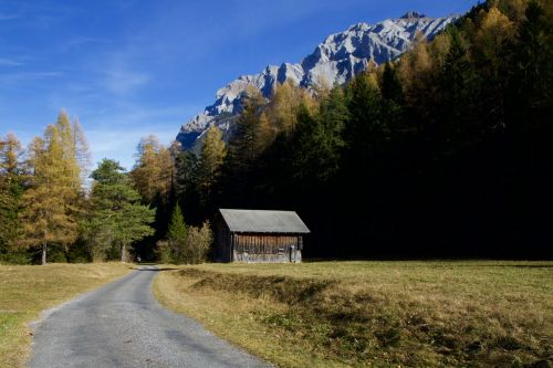 mountains alpine autumn