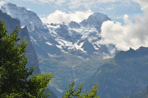 mountains jungfraujoch switzerland