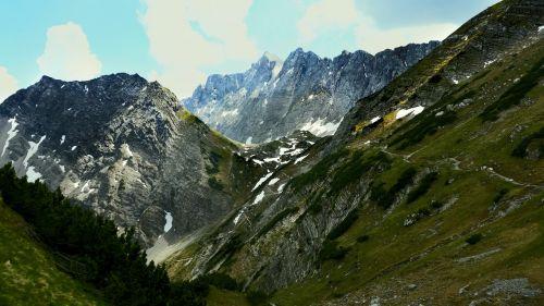 mountains karwendel hiking