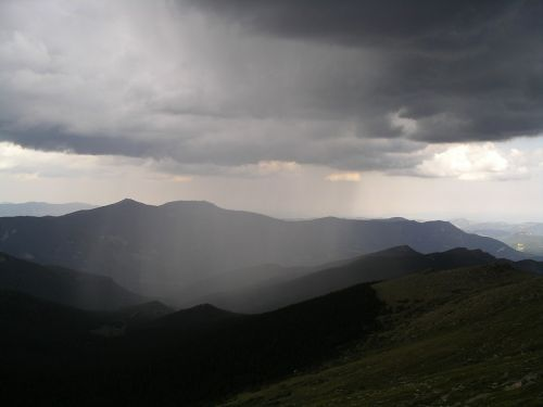 mountains colorado storm