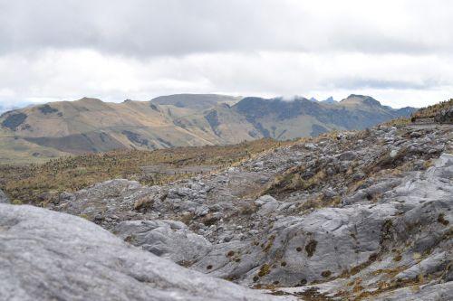mountains nevado rocks